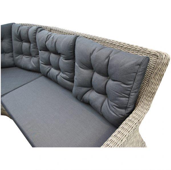 3 zits loungebank buiten